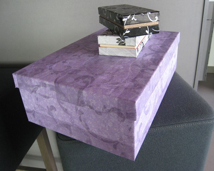 Cajas decoradas con D'Deco Art