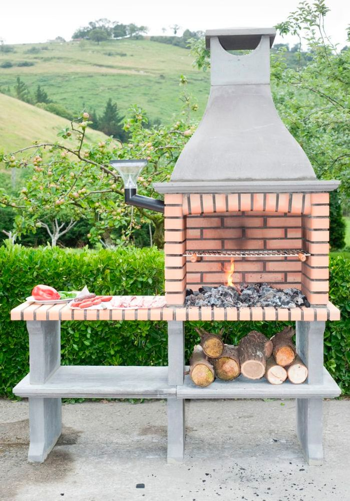 Barbacoa exterior leroy merlin for Barbacoa leroy merlin