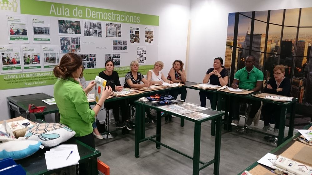 Taller leroy merlin gij n as dimos vida a nuestras ideas for Leroy merlin gijon