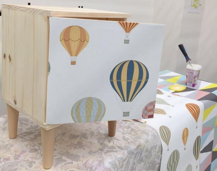 Taller ideas para decorar con papel pintado comunidad leroy merlin - Decorar papel pintado ...