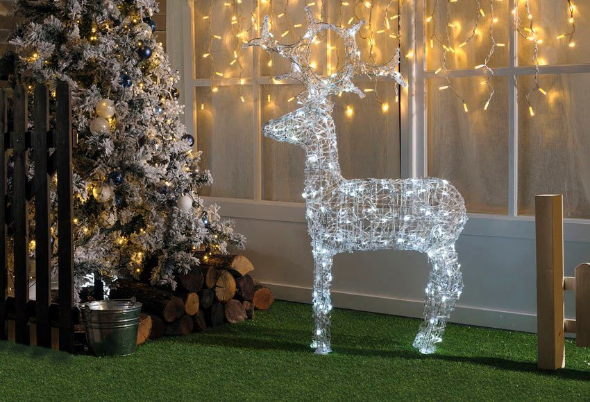 Bonito luces de exterior inspiraci n ideas de decoraci n for Luces de navidad leroy merlin