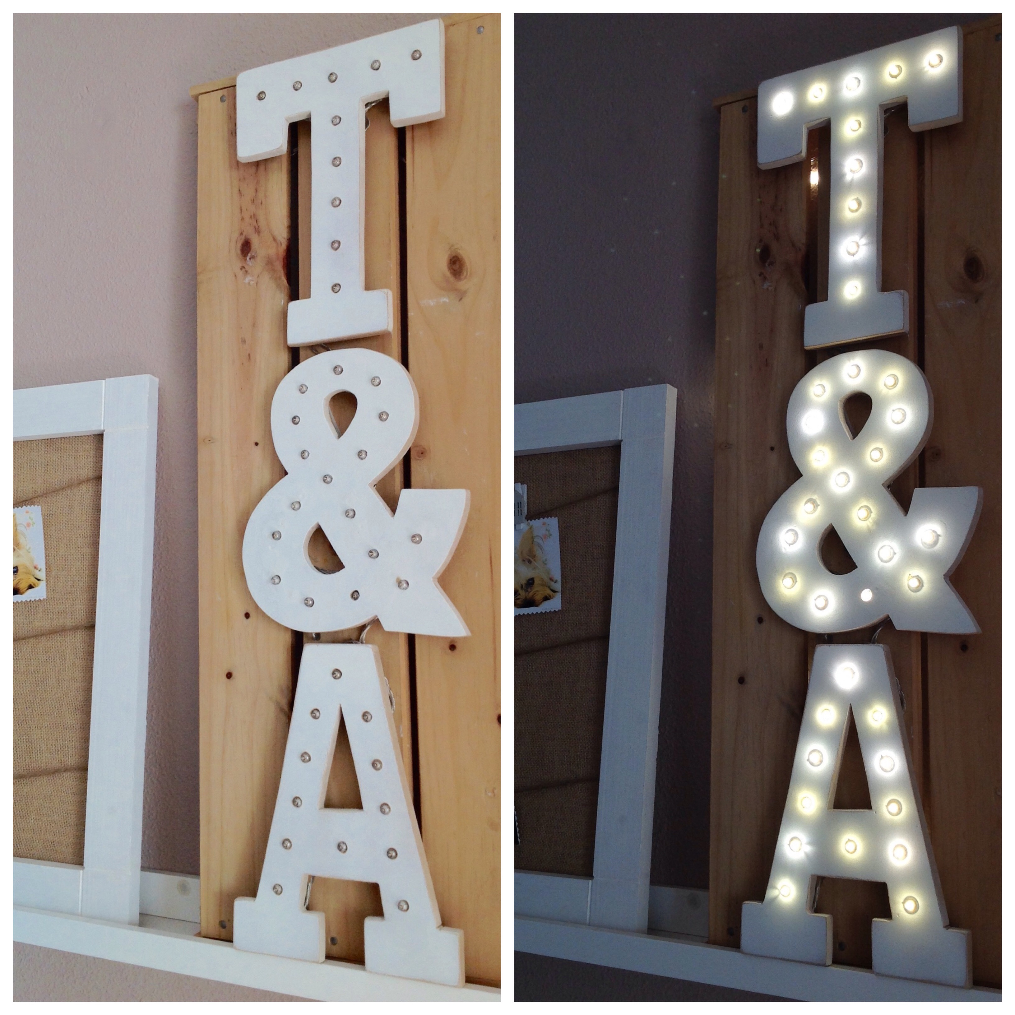 letras luminosas leroy merlin