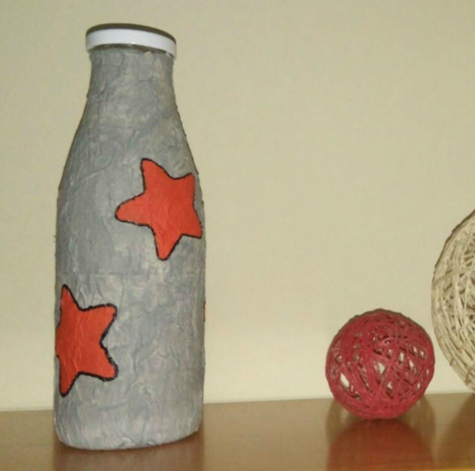 Como Decorar Botellas Con Papel Mache Leroy Merlin - Decorar-botellas