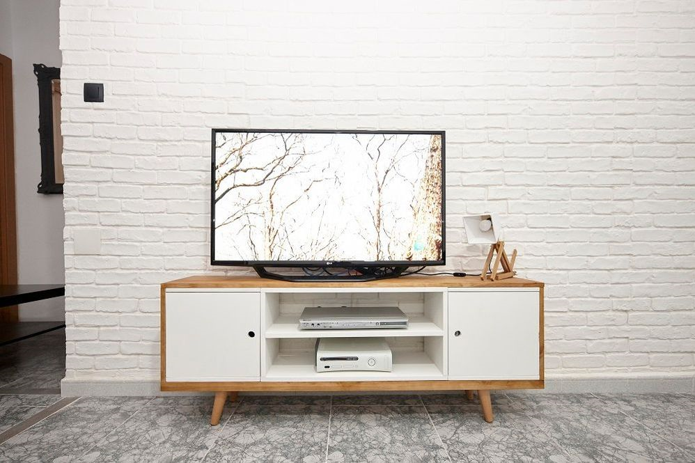 Mueble Para Tv De Estilo Nordico Leroy Merlin